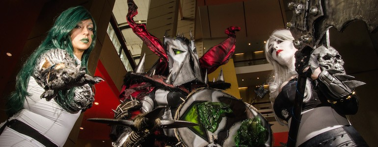 Spawn, Witchblade, Lady Death Cosplay Gallery