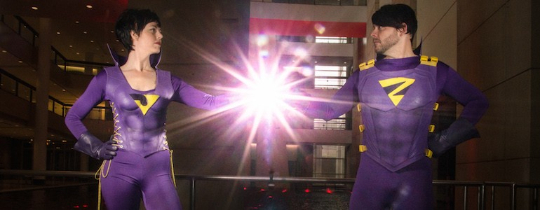 Epic Wonder Twins Cosplay