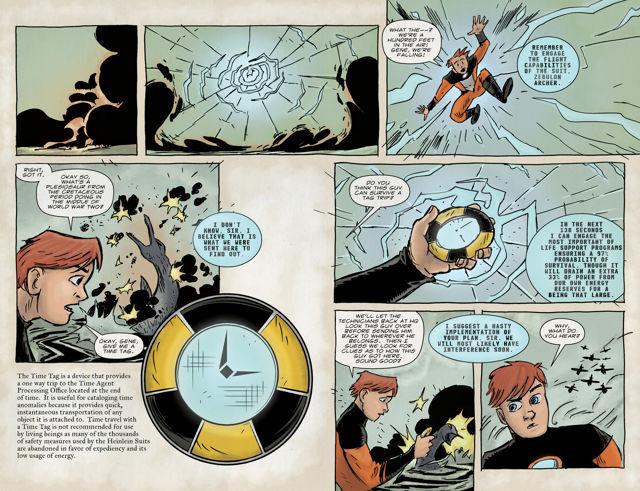 Science Hero Comic 3