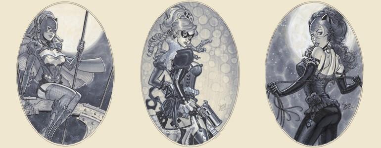 Victorian-Style DC Ladies Art Gallery
