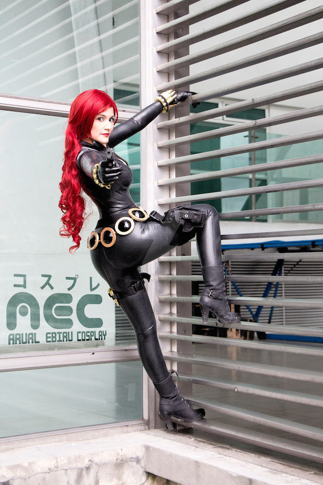 Cosplay Collection Black Widow Arual Ebiru