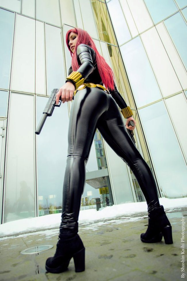 Cosplay Collection Black Widow Ayuko Cosplay