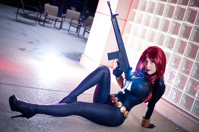 Cosplay Collection Black Widow Crystal Graziano