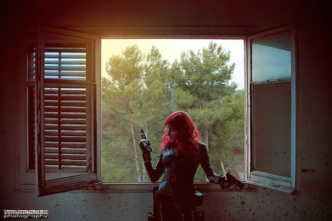 Cosplay Collection Black Widow Ginger Panda
