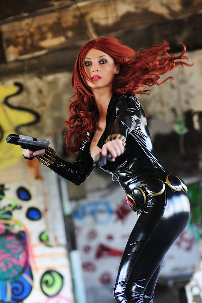 Cosplay Collection Black Widow Giorgia Cosplay