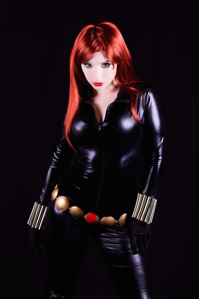 Cosplay Collection Black Widow Honey Kitty