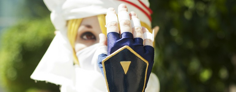 Awesome Sheik (Zelda) Cosplay