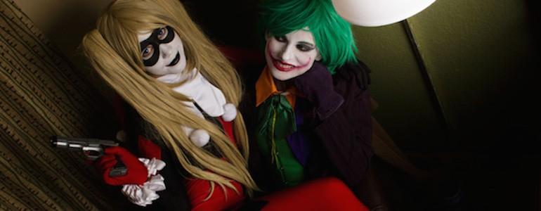 Fem Joker & Harley Quinn Cosplay