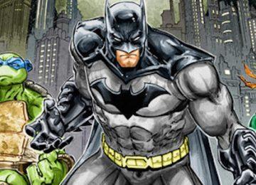'Batman vs Teenage Mutant Ninja Turtles' Animated Trailer
