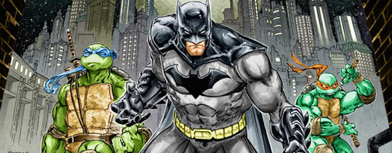 SDCC: Batman & Ninja Turtles Team Up (Seriously)