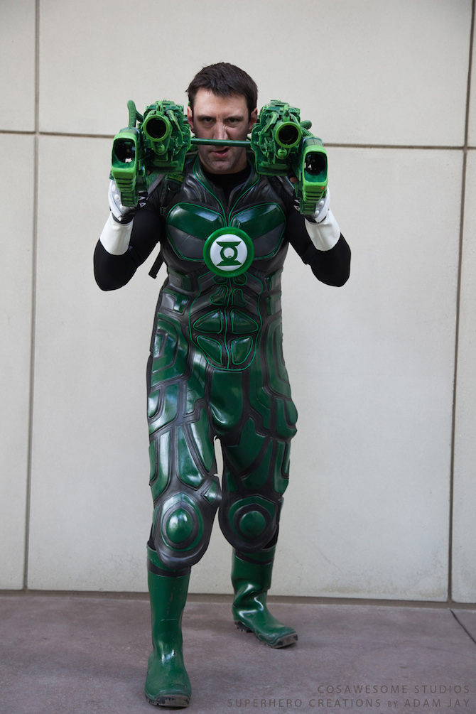 cosplay collection green lantern project nerd. Black Bedroom Furniture Sets. Home Design Ideas