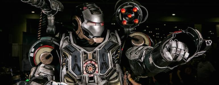 Marvel 'War Machine' Cosplay