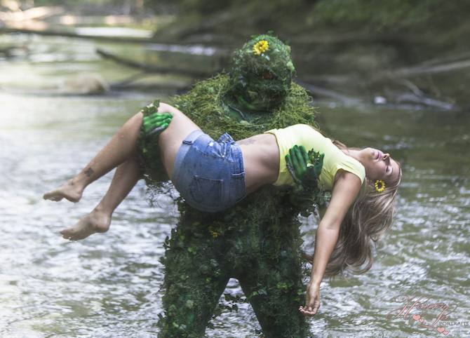 Knightmage Swamp Thing 1
