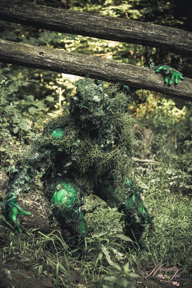 Knightmage Swamp Thing 7