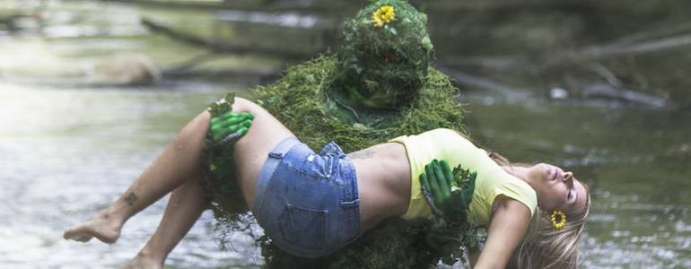 Exclusive Swamp Thing Cosplay