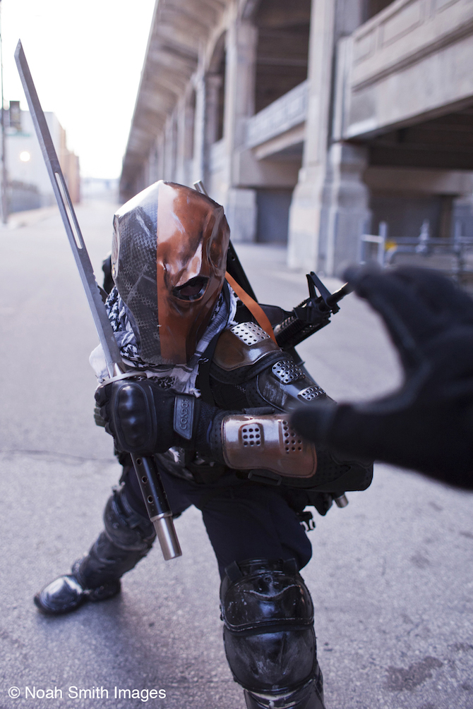 deathstroke arrow cosplay - photo #24