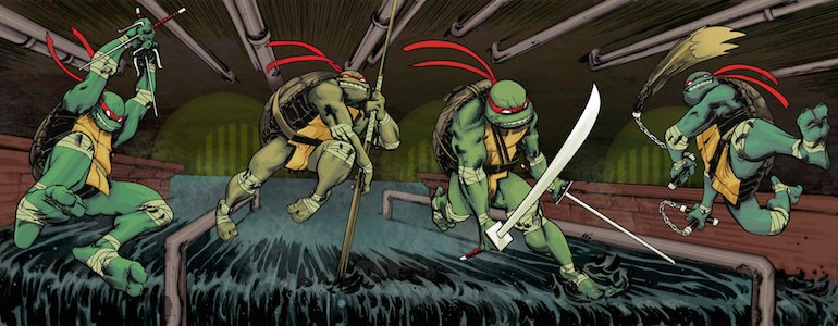 Ninja Turtles Board Game Coming from IDW
