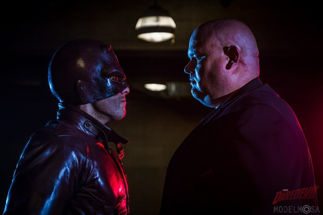 Daredevil Vs Kingpin Daredevil vs Kingpin C...