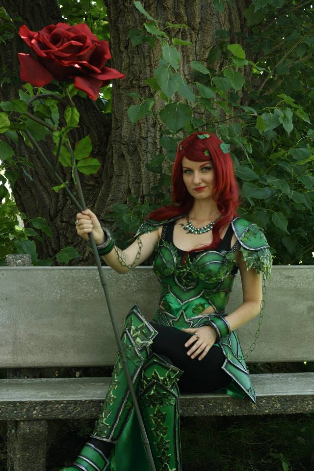 Exquisite Armored Poison Ivy Cosplay Project Nerd