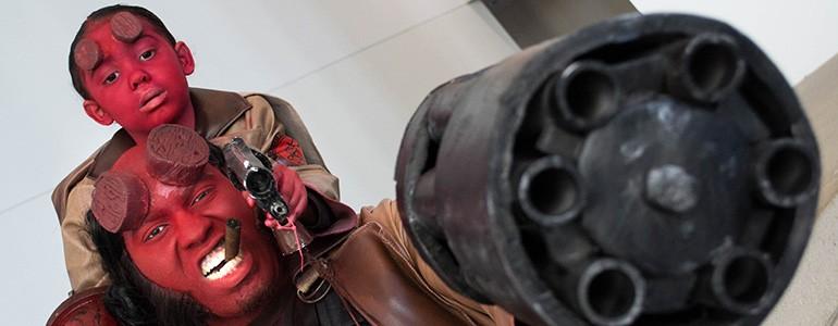 Red Hot Hellboy Cosplay