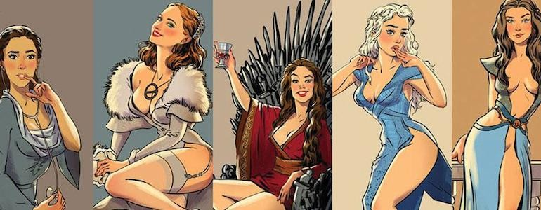'Game of Thrones' Pinups