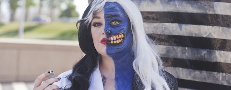 Exclusive Lady Two-Face Cosplay