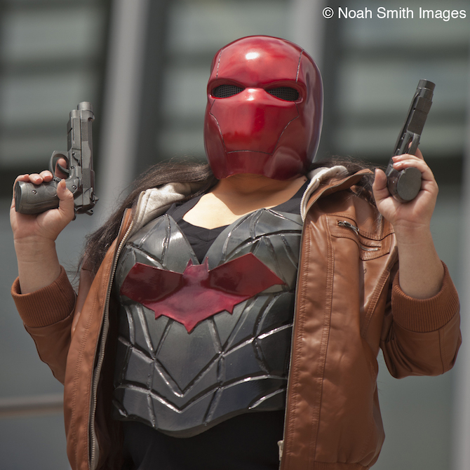 Red Hood Alexa Heart 3