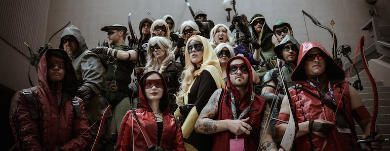 Arrow Cosplay Group from Dragon Con