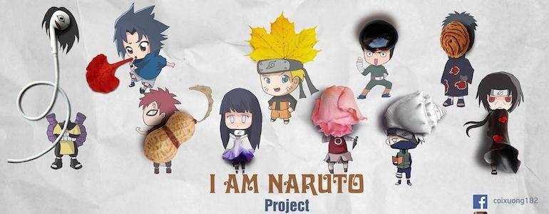'I am Naruto' Painting Series