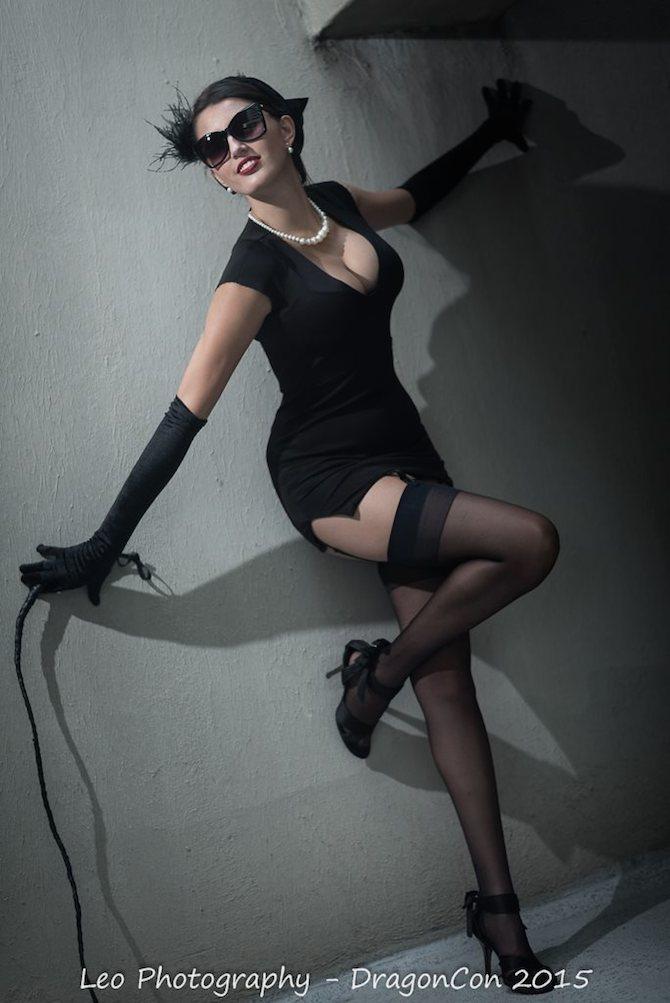 Michelle Brannon Catwoman 1