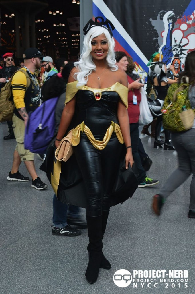 New York Comic Con, NYCC, cosplay, X-Men, Storm