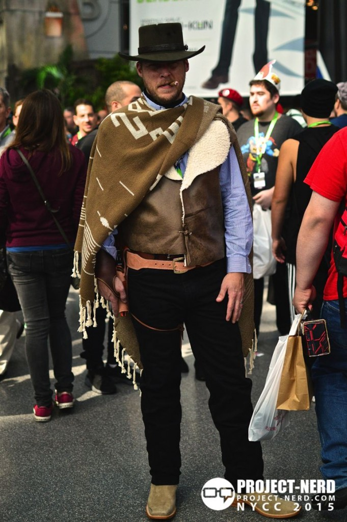New York Comic Con, NYCC, cosplay, Clint Eastwood, The Good, The Bad, and The Ugly