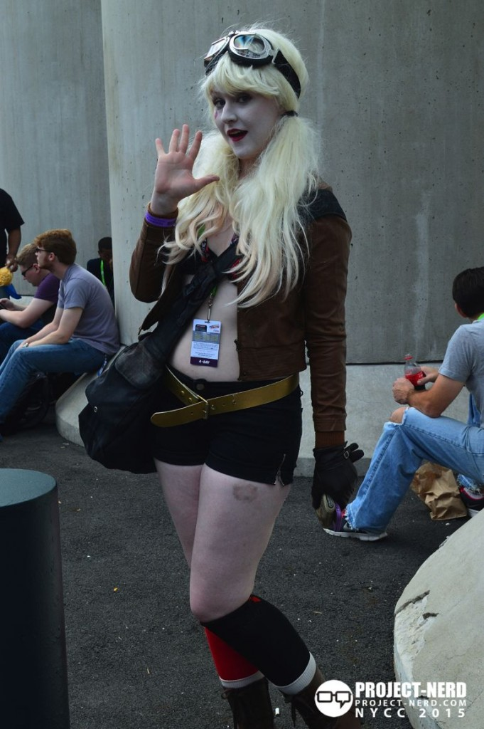 New York Comic Con, cosplay, NYCC, Harley Quinn