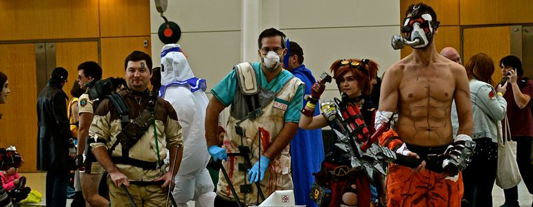 Grand Rapids Comic Con, cover, project-nerd, borderlands, cityscape, best cosplay, awesome, Marvel, DC Comics, Dynamite, cosplay, costuming, reddit3