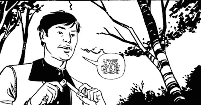 Green River Killer Comic 1