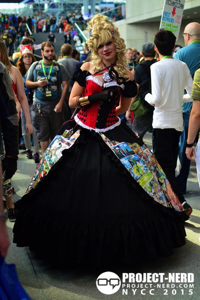 New York Comic Con, cosplay, NYCC, Harley Quinn