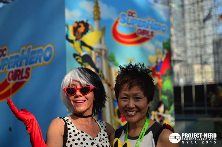 New York Comic Con, NYCC, DC Super Hero GIrls, Lisa Yee, DC Comics