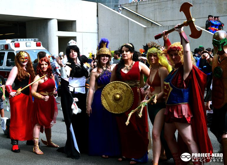 New York Comic Con, NYCC, cosplay, Wonder Woman, Justice League, Marvel, DC Comics, cosplayers, 02