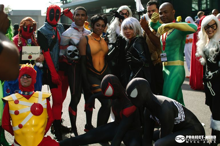 New York Comic Con, NYCC, cosplay, Marvel, DC Comics, cosplayers, 13