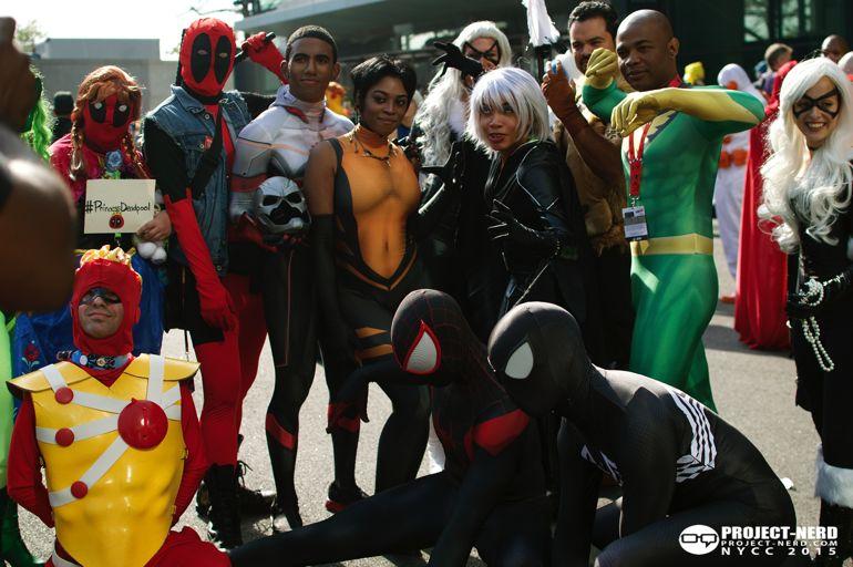 New York Comic Con, NYCC, cosplay, Marvel, DC Comics, cosplayers, 13