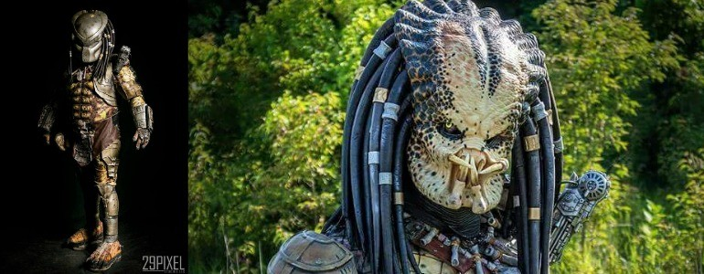Predator Cosplay…'Nuff said