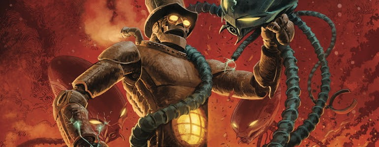 'The Steam Man' #1 Comic Review