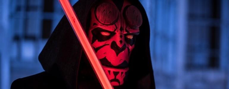 Sithboy: Darth Maul & Hellboy Mashup