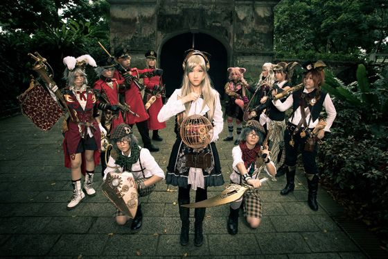 Alice In Wonderland, Kaze, Alice In Steampunkland, the Mad Hatter, Tea Party1