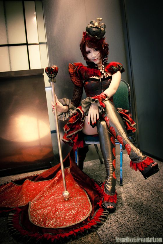 Alice In Wonderland, Red Queen, Kaze, Alice In Steampunkland, the Mad Hatter, Tea Party1