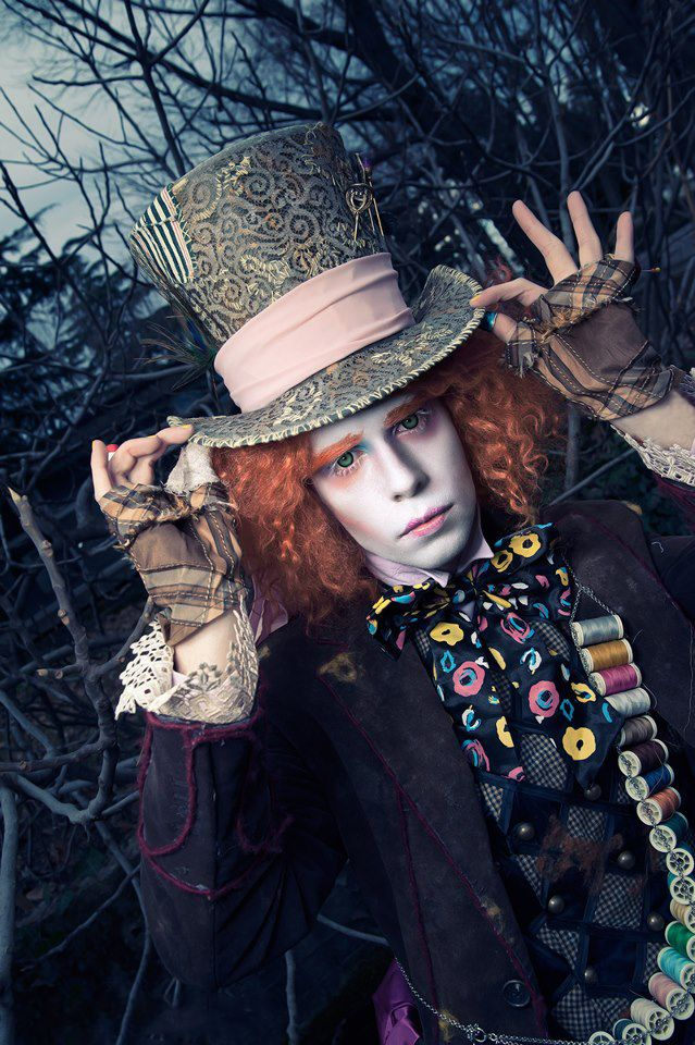Alice In Wonderland, the Mad Hatter, Tea Party1