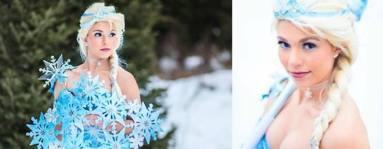 Battle Ready Elsa Cosplay