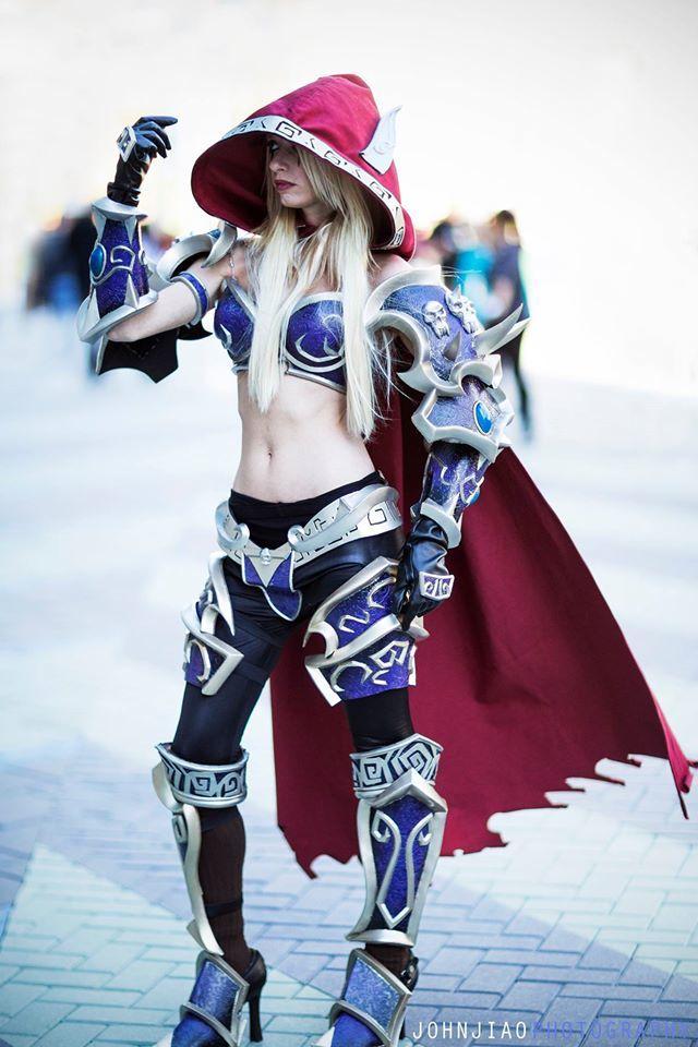 BlizzCon, gaming, comics, anime, armor, World of WarCraft, Tekken, cosplay05
