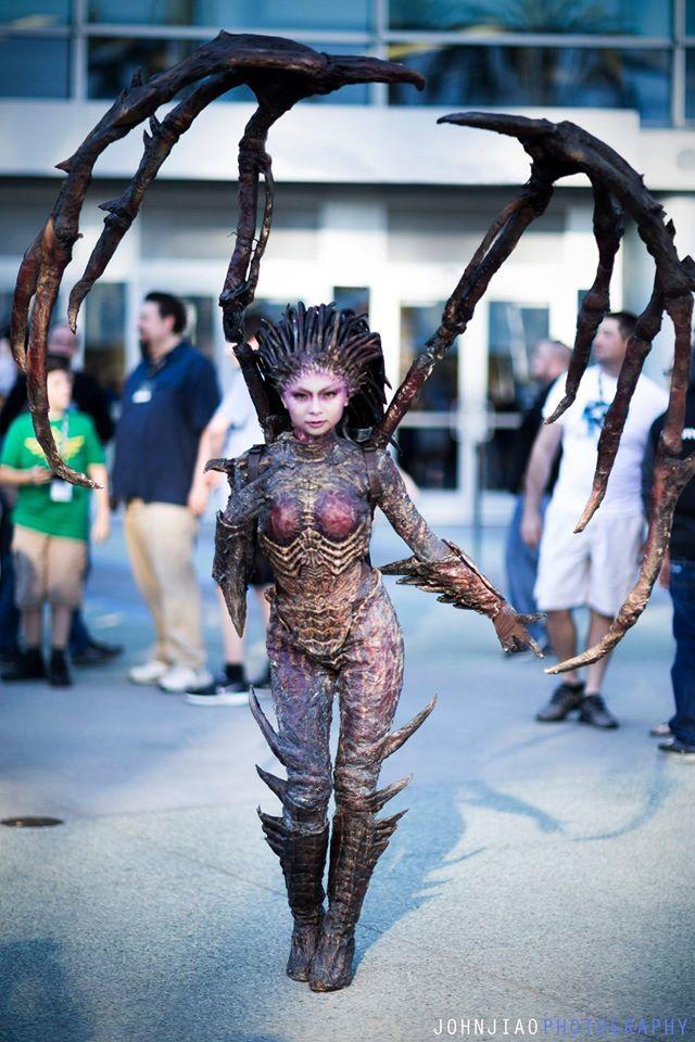 BlizzCon, gaming, comics, anime, armor, World of WarCraft, Tekken, cosplay17