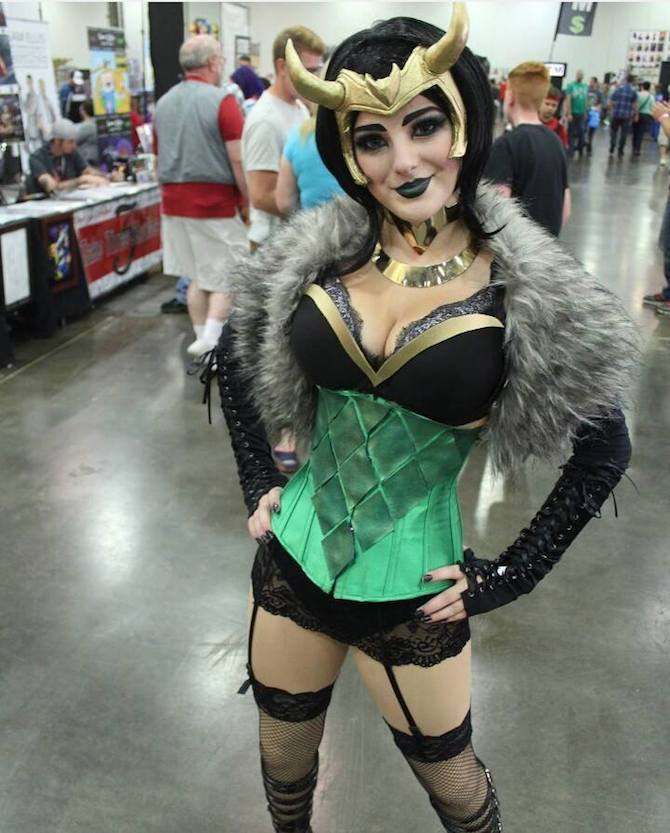 CC Lady Loki Princess Morgan